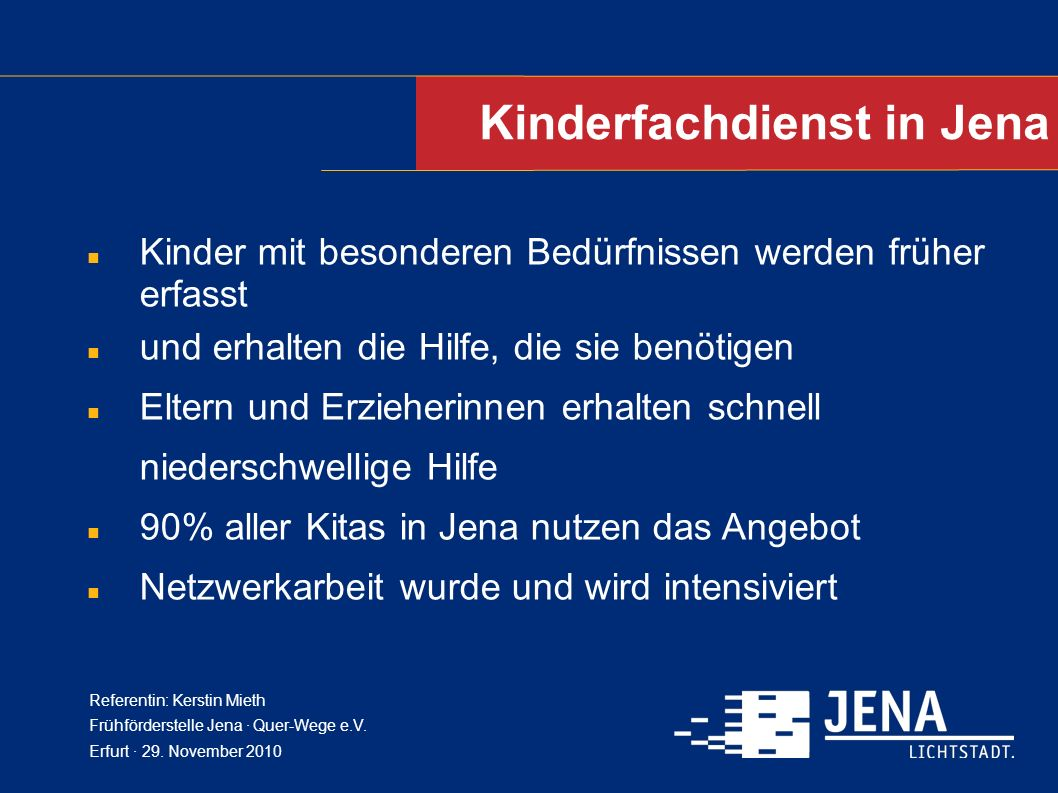 Kinderfachdienst in Jena