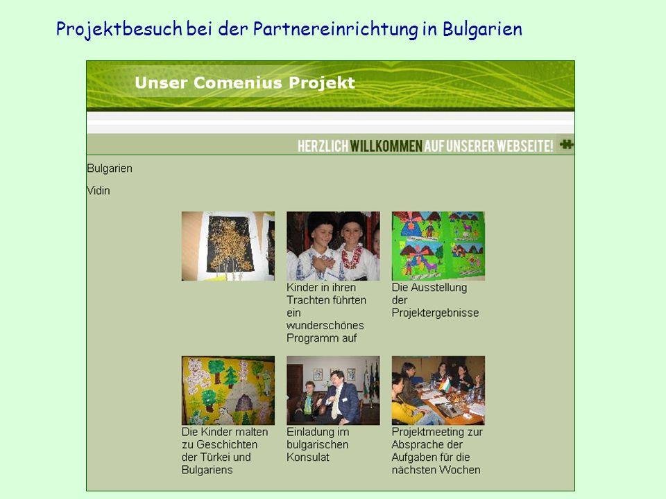 Projektbesuch bei der Partnereinrichtung in Bulgarien