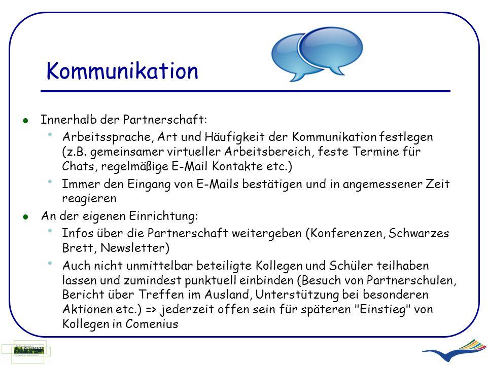 Kommunikation Innerhalb der Partnerschaft: