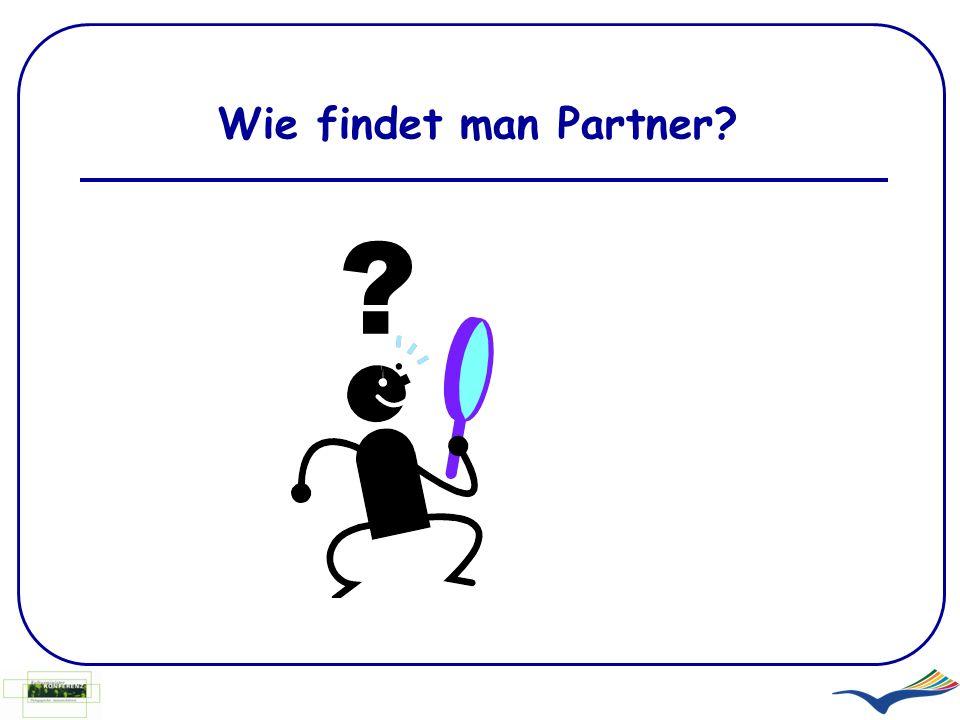 Wie findet man Partner