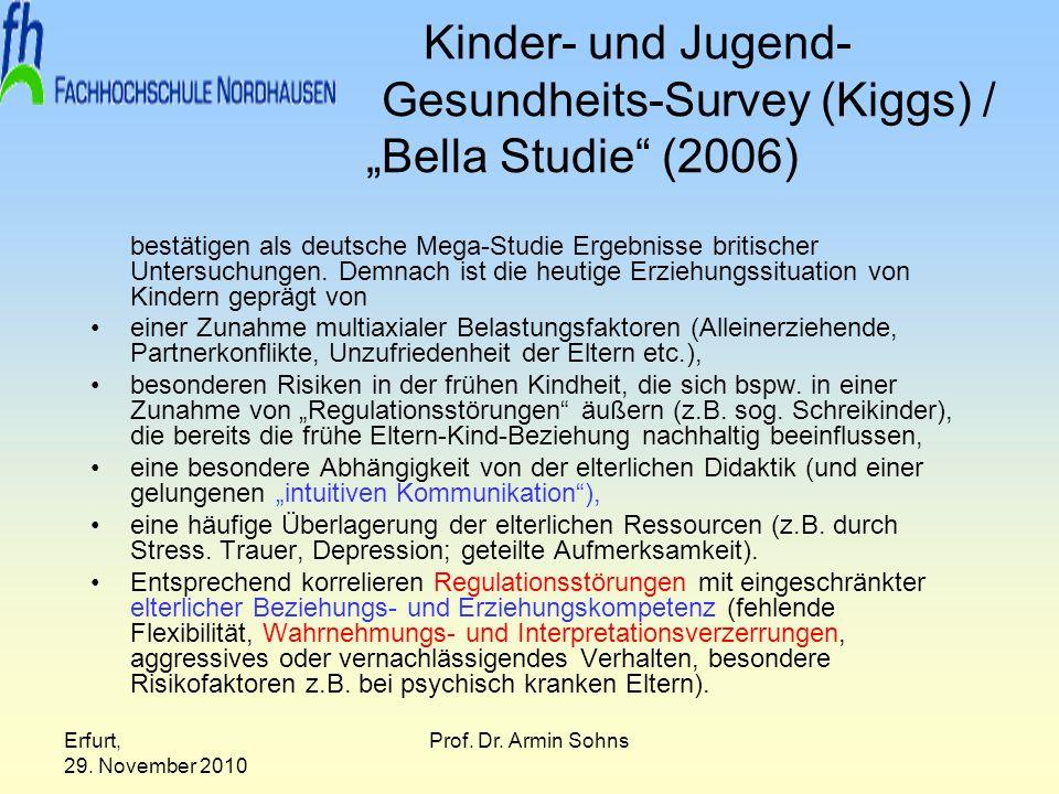 "Kinder- und Jugend- Gesundheits-Survey (Kiggs) / ""Bella Studie (2006)"