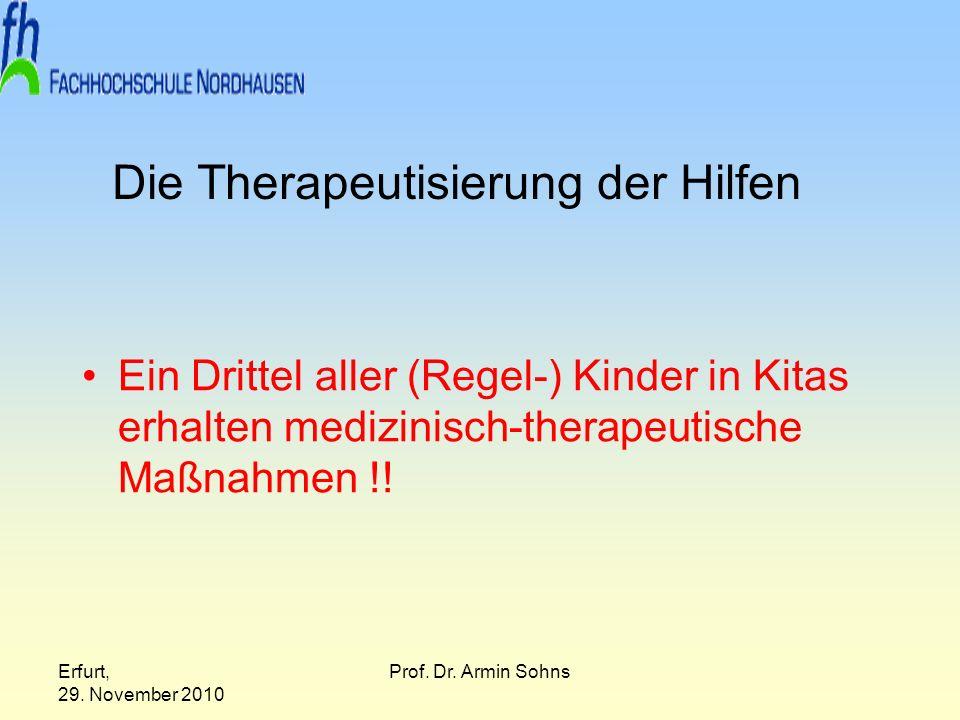 Die Therapeutisierung der Hilfen