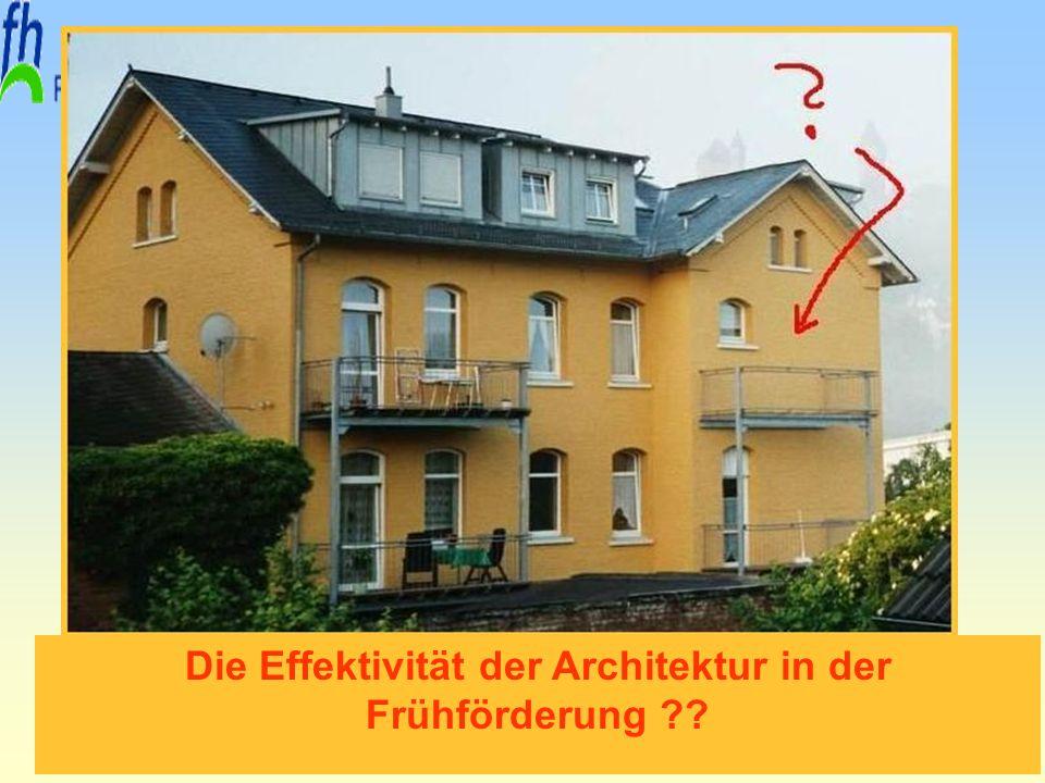 Die Effektivität der Architektur in der Frühförderung