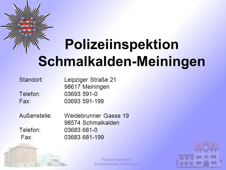 Polizeiinspektion Schmalkalden-Meiningen