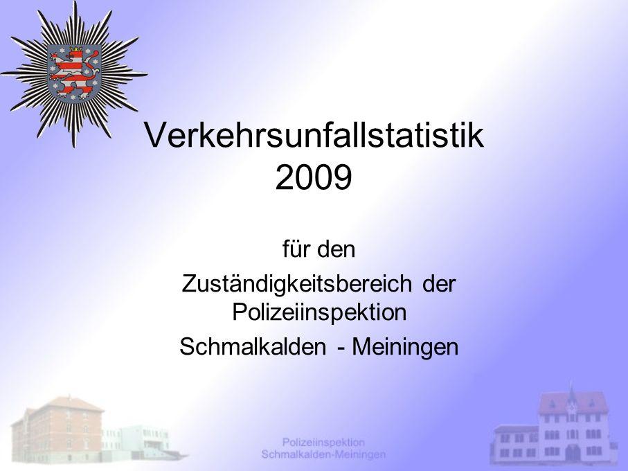 Verkehrsunfallstatistik 2009