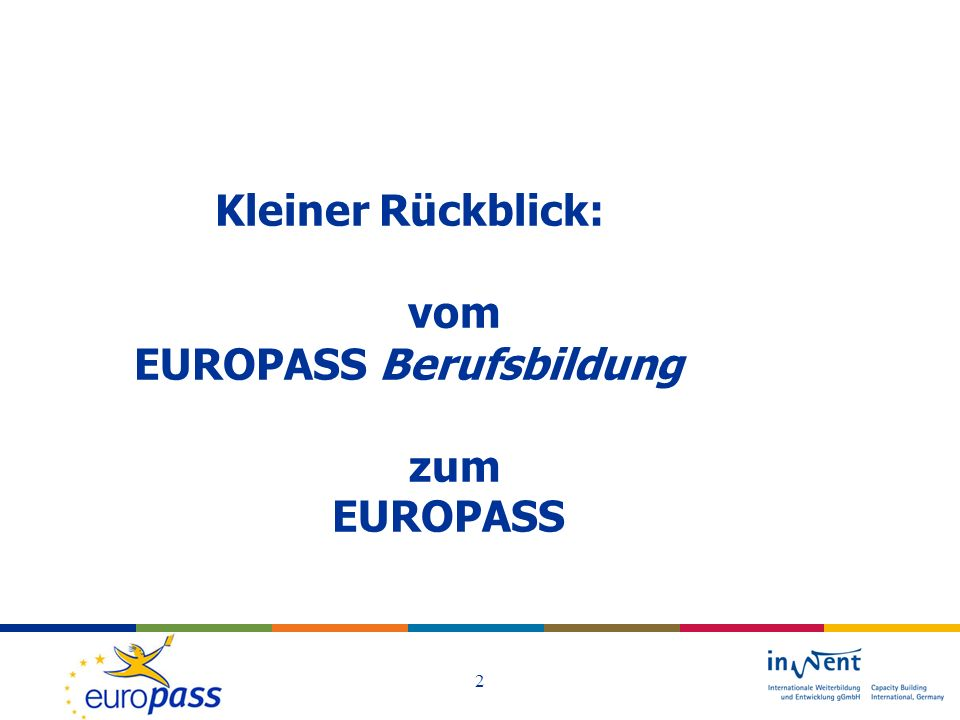 EUROPASS Berufsbildung