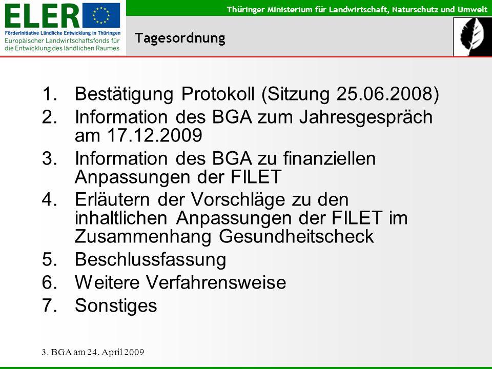 Bestätigung Protokoll (Sitzung 25.06.2008)
