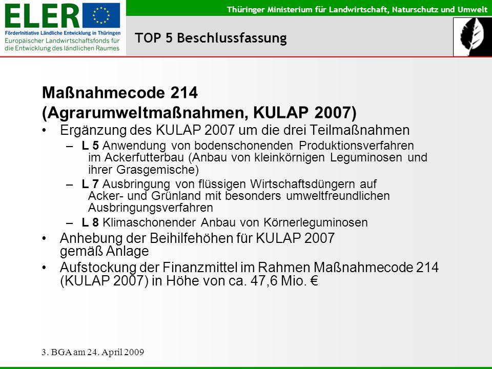 (Agrarumweltmaßnahmen, KULAP 2007)