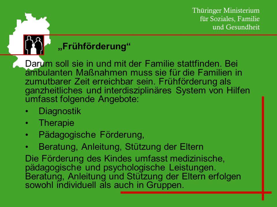 """""""Frühförderung"""