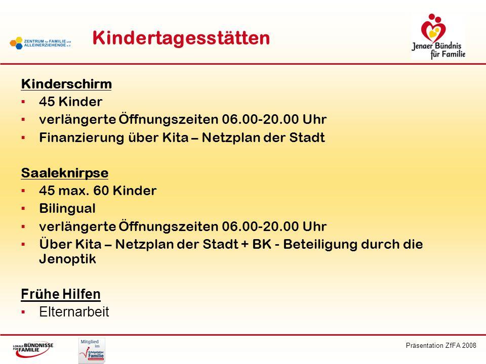 Kindertagesstätten Kinderschirm 45 Kinder