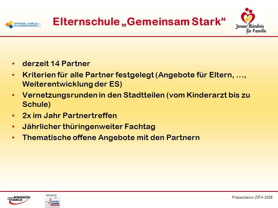 """Elternschule """"Gemeinsam Stark"""