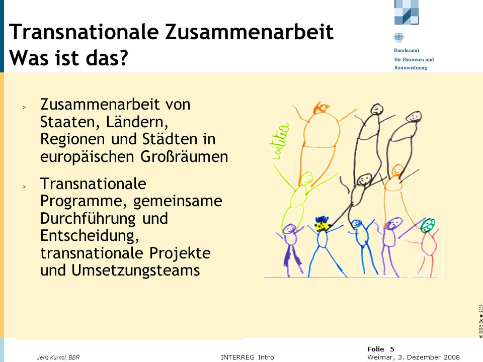 Transnationale Zusammenarbeit Was ist das