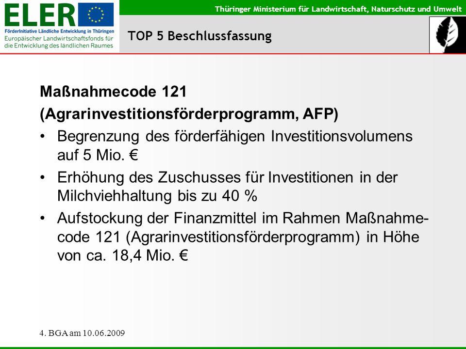 (Agrarinvestitionsförderprogramm, AFP)