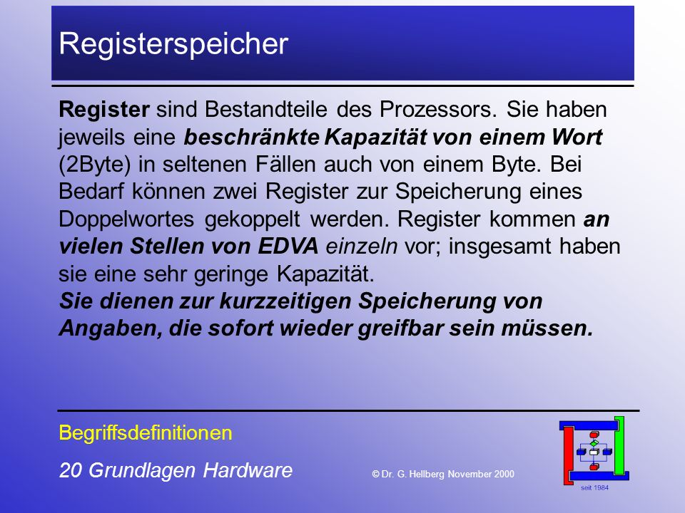 Registerspeicher