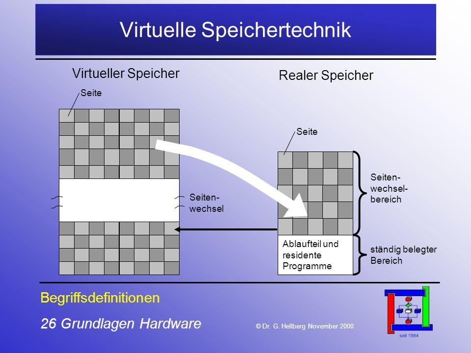 Virtuelle Speichertechnik