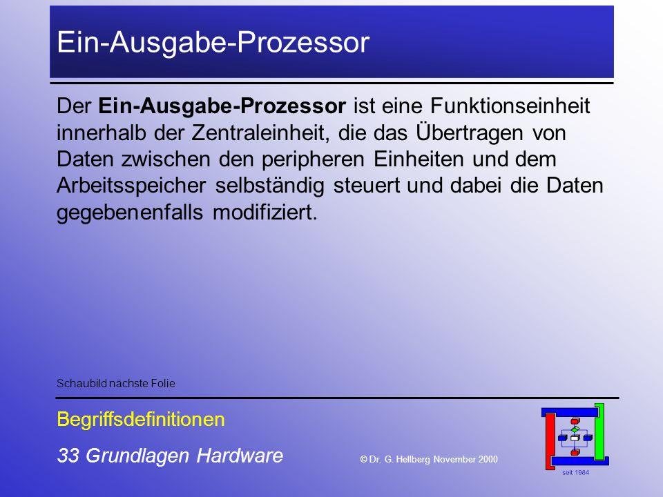 Ein-Ausgabe-Prozessor