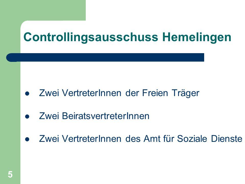 Controllingsausschuss Hemelingen