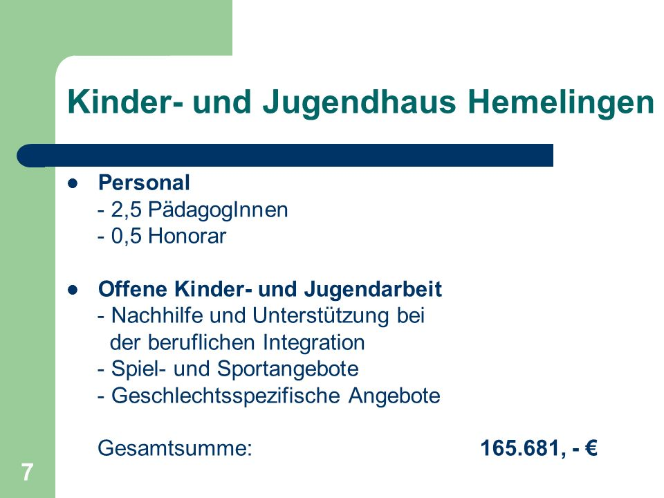 Kinder- und Jugendhaus Hemelingen