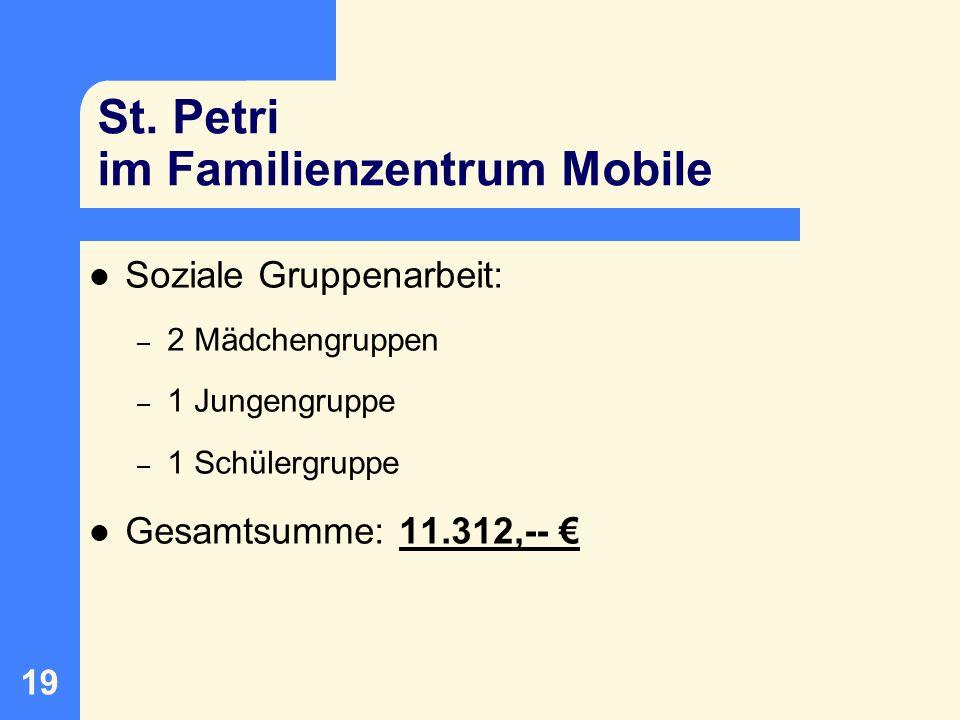 St. Petri im Familienzentrum Mobile
