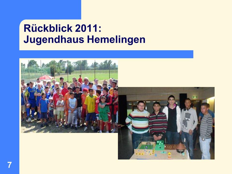 Rückblick 2011: Jugendhaus Hemelingen