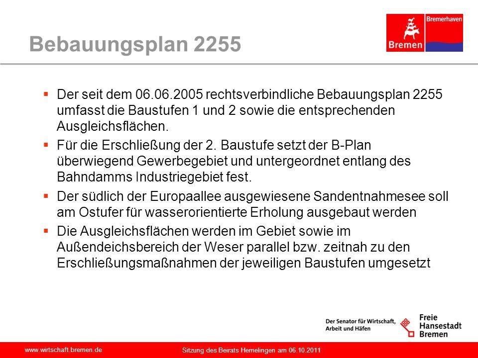 Bebauungsplan 2255