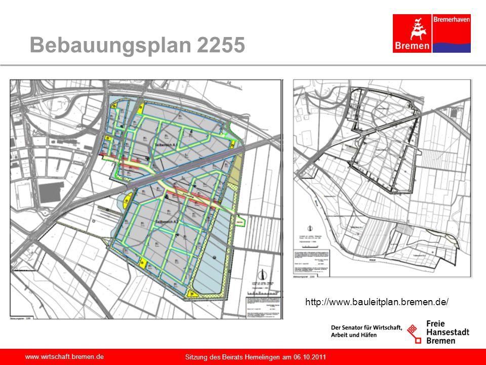 Bebauungsplan 2255 http://www.bauleitplan.bremen.de/