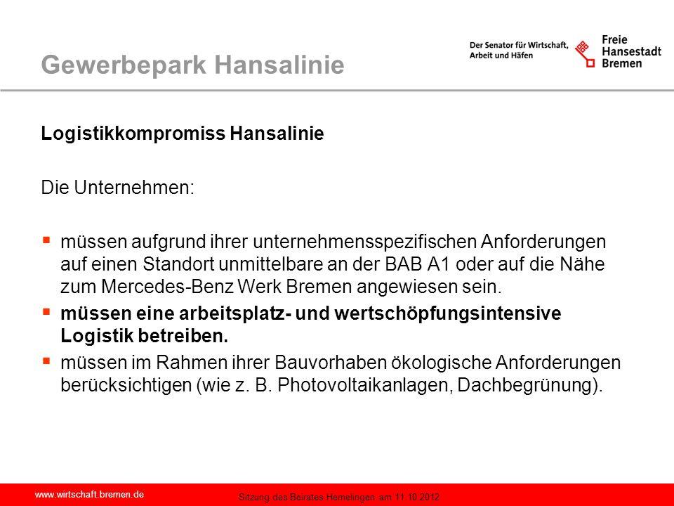 Gewerbepark Hansalinie