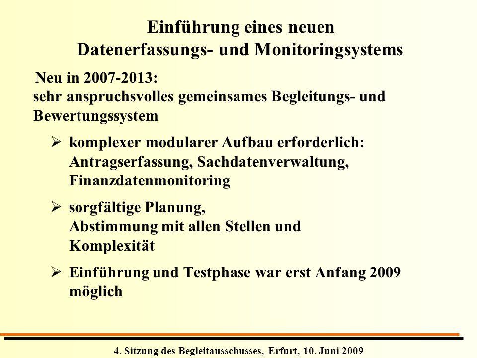 Einführung eines neuen Datenerfassungs- und Monitoringsystems