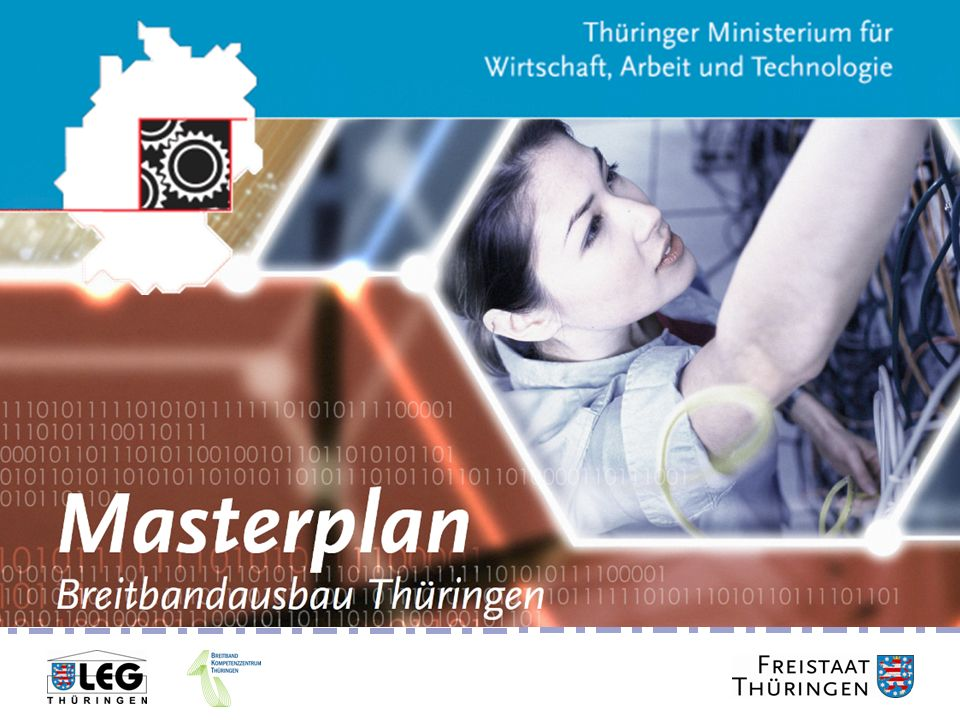 Masterplan Breitbandausbau Thüringen