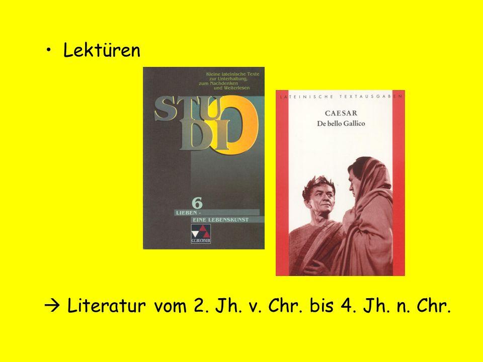  Literatur vom 2. Jh. v. Chr. bis 4. Jh. n. Chr.