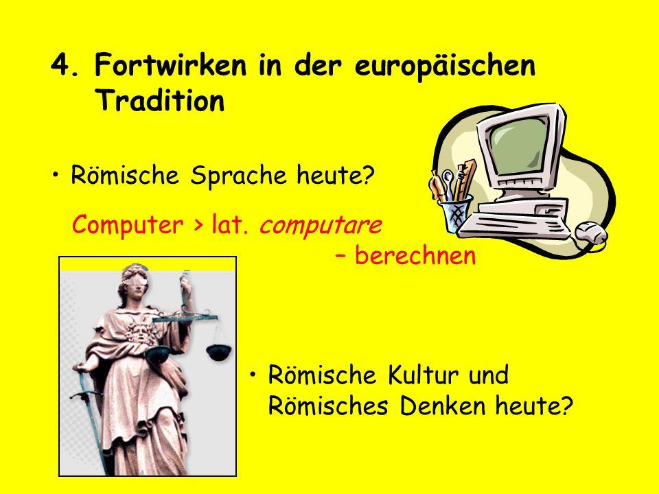 Fortwirken in der europäischen Tradition