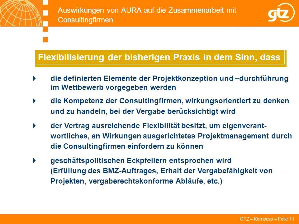 Auswirkungen von AURA auf die Zusammenarbeit mit Consultingfirmen