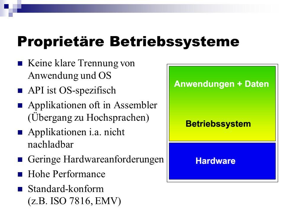 Proprietäre Betriebssysteme