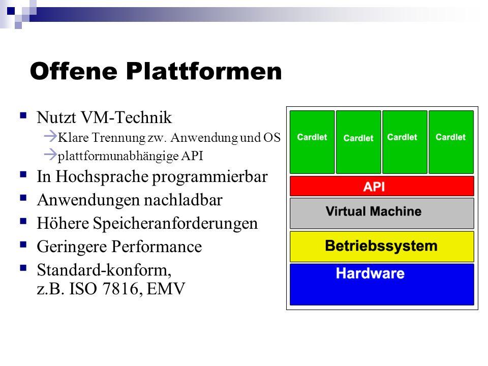Offene Plattformen Nutzt VM-Technik In Hochsprache programmierbar