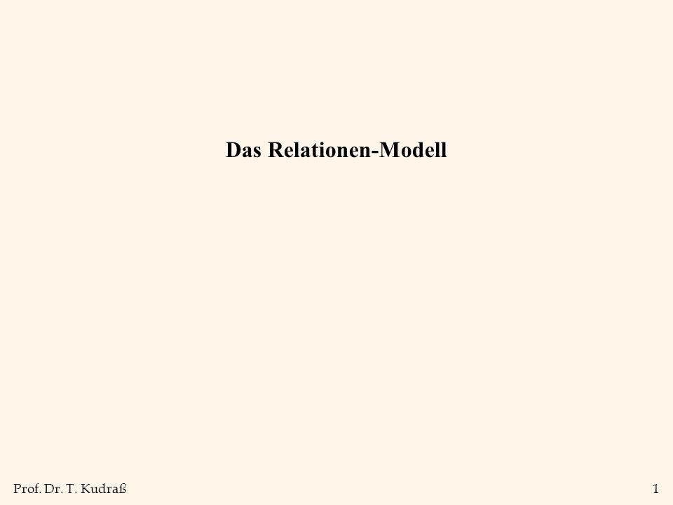 Das Relationen-Modell