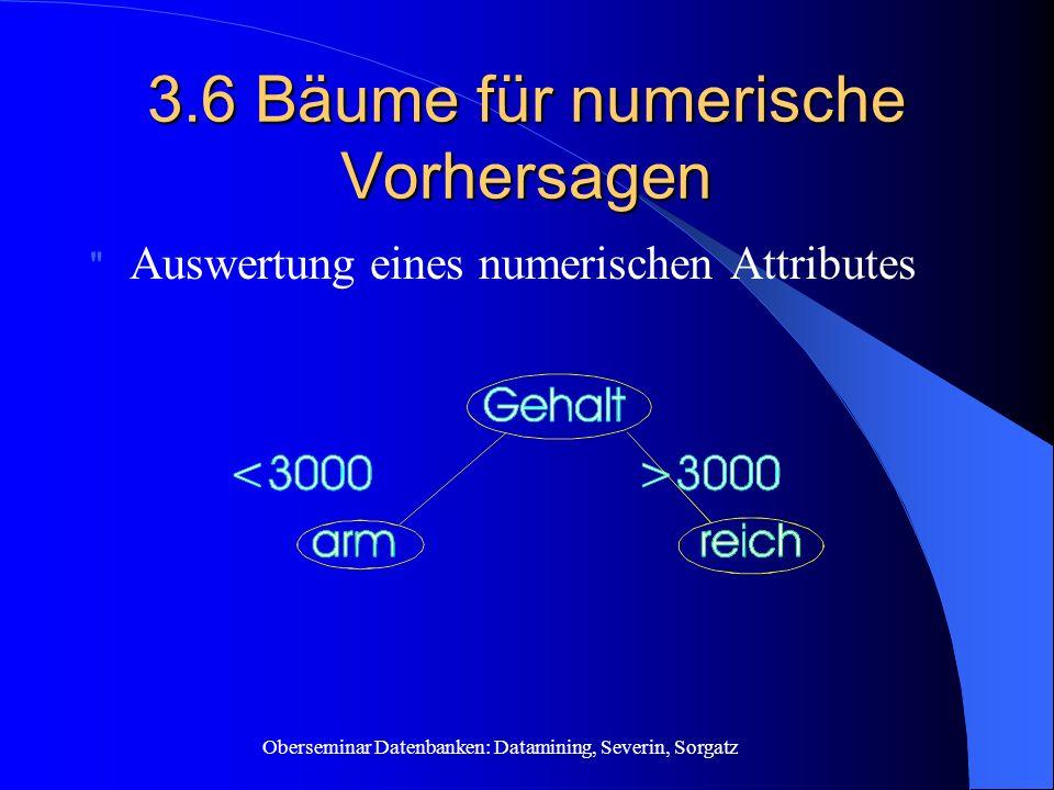 3.6 Bäume für numerische Vorhersagen
