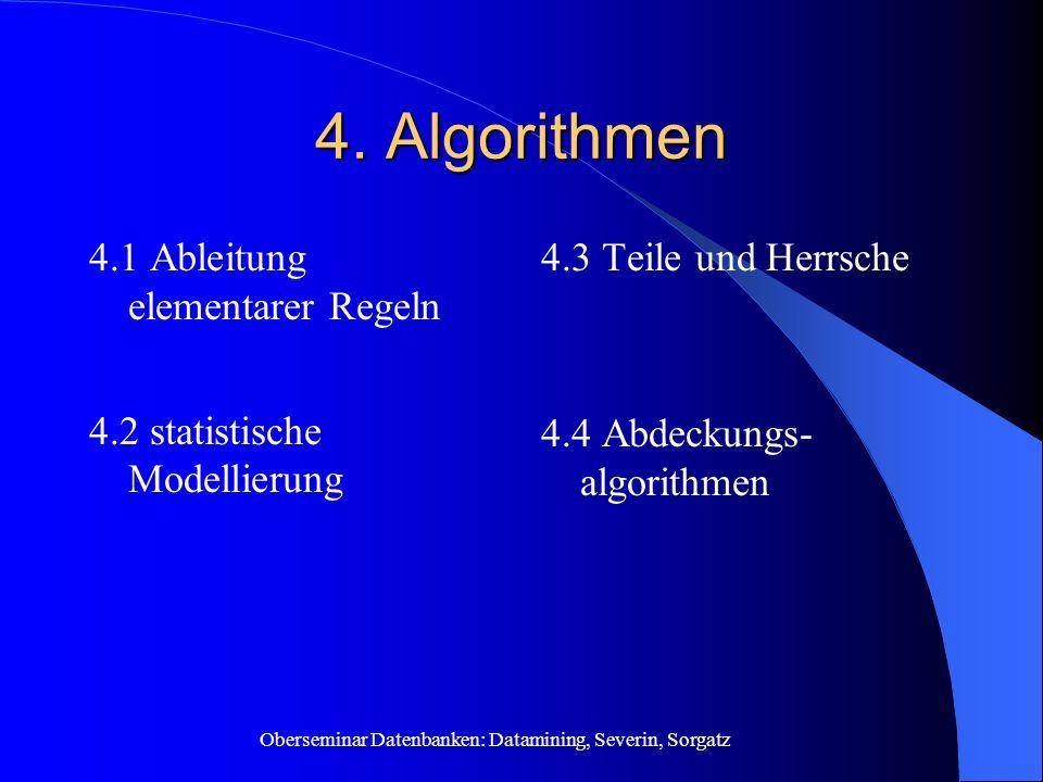 4. Algorithmen 4.1 Ableitung elementarer Regeln