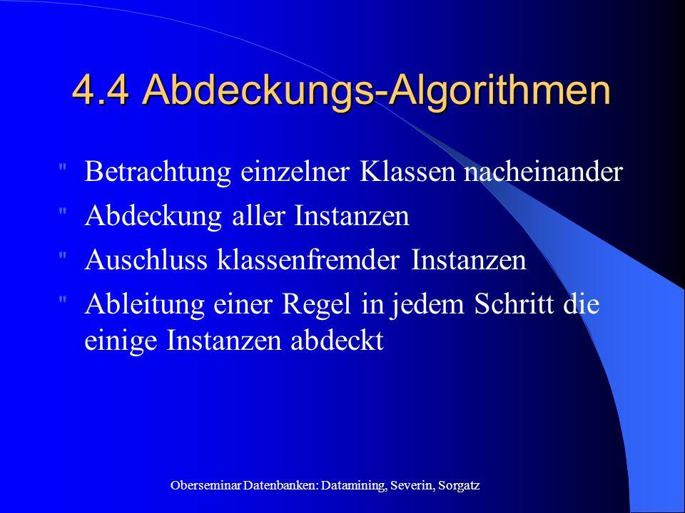 4.4 Abdeckungs-Algorithmen