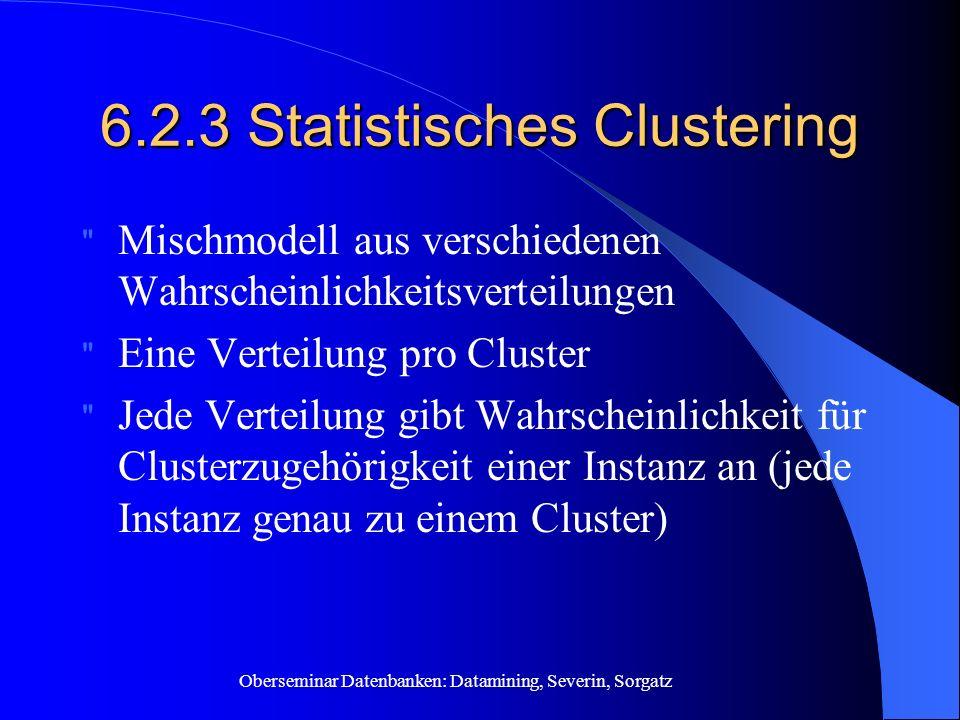 6.2.3 Statistisches Clustering