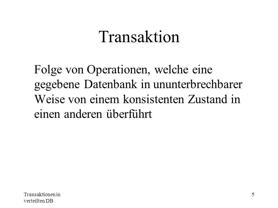 Transaktion