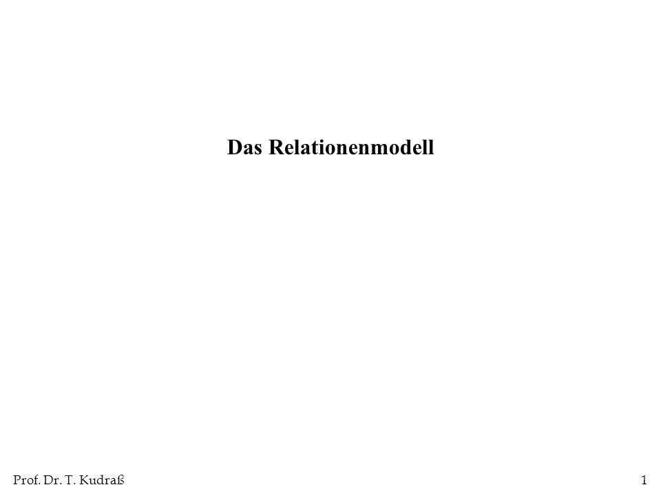 Das Relationenmodell 1