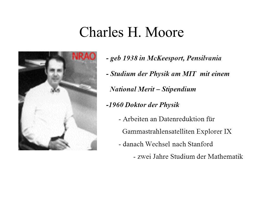 Charles H. Moore - geb 1938 in McKeesport, Pensilvania