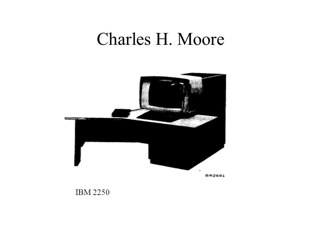 Charles H. Moore IBM 2250