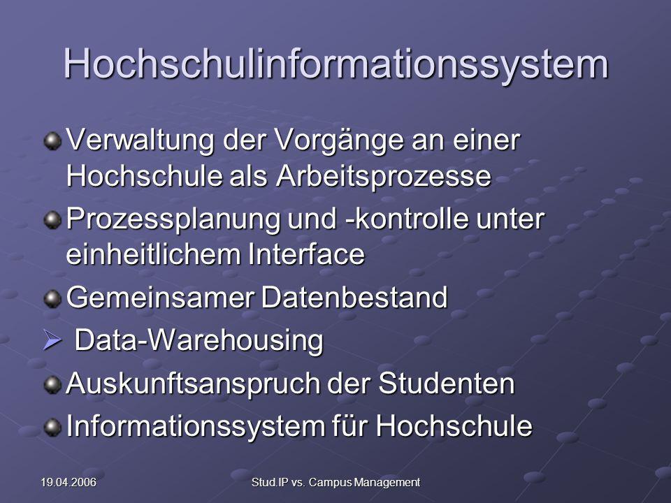 Hochschulinformationssystem
