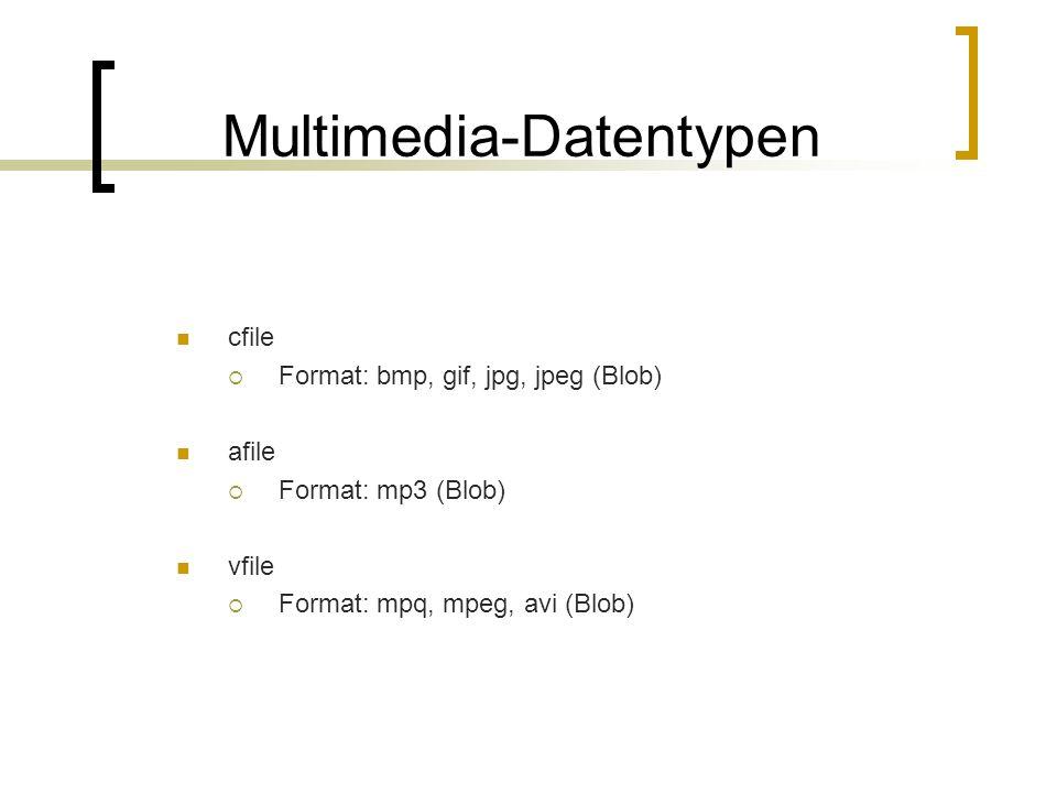 Multimedia-Datentypen