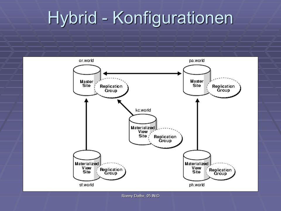 Hybrid - Konfigurationen