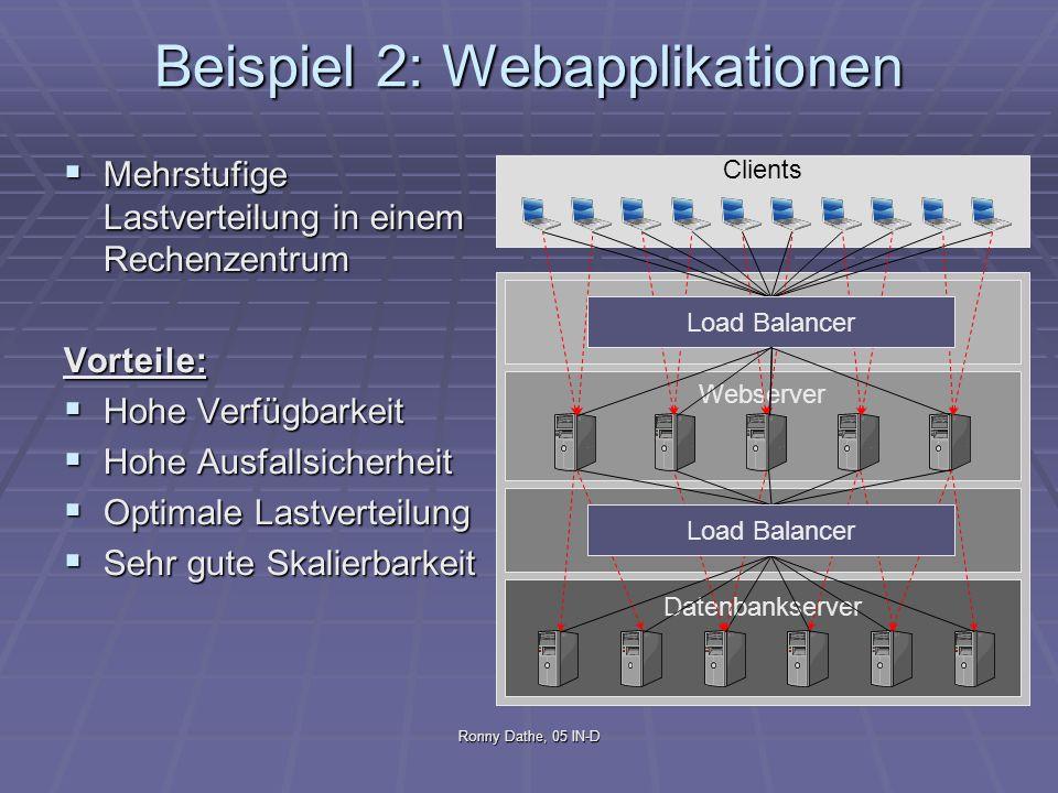 Beispiel 2: Webapplikationen