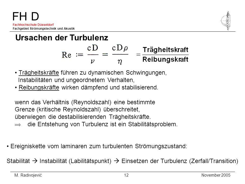 Ursachen der Turbulenz