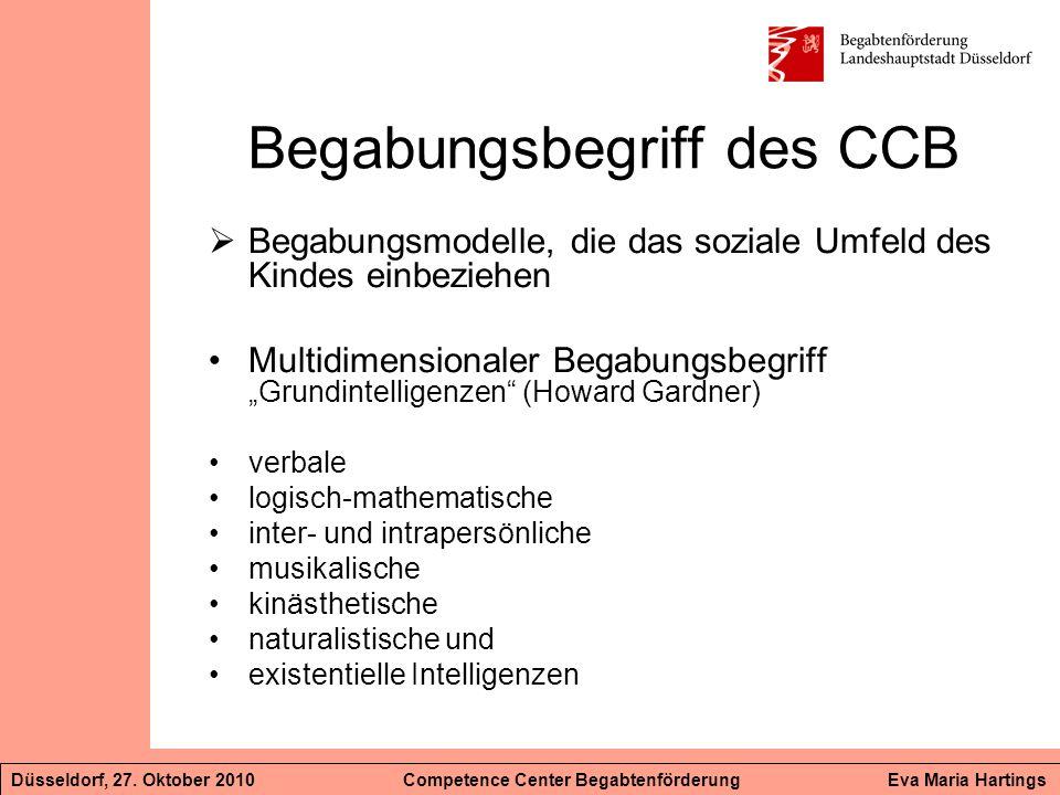 Begabungsbegriff des CCB