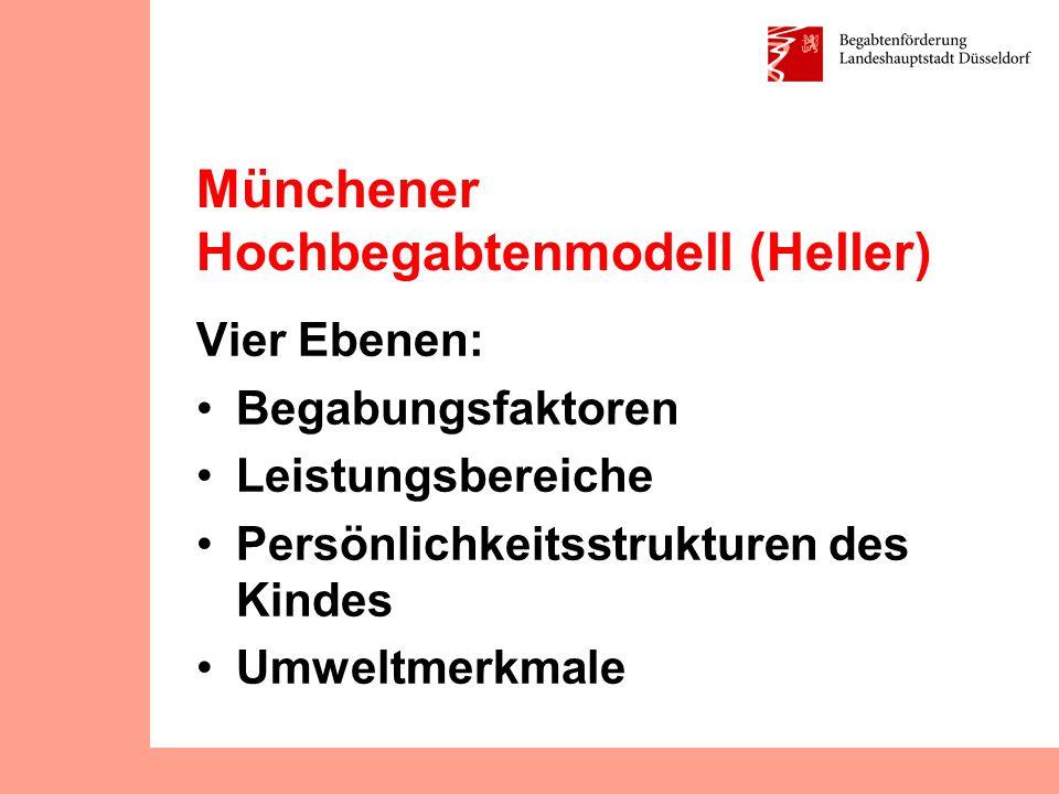 Münchener Hochbegabtenmodell (Heller)